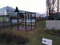 Ławka Cube-2mx2m-deska ławki