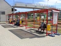 miejski przystanek