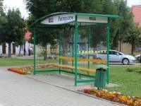 przystanek autobusowy na wsi